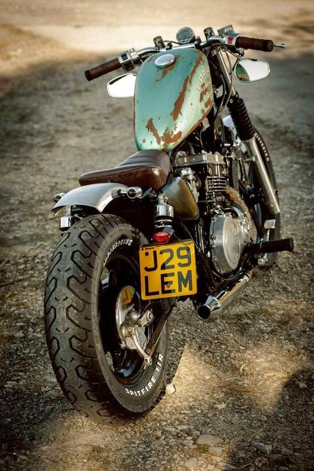 Kawasaki EN500 By Dust Motorcycles -- SSD - HDD - http://www.ssd-hdd.info/