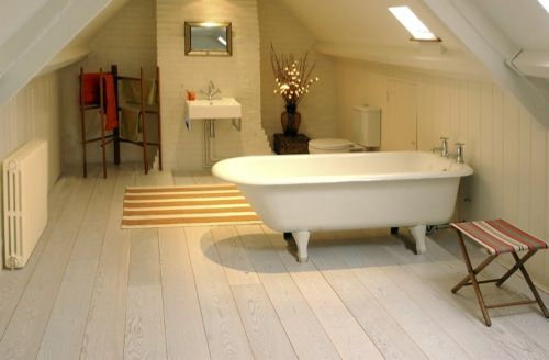 - Natural Wood Floor