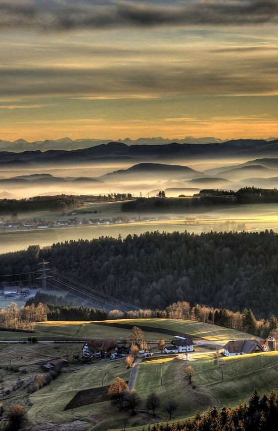 View from Hornberg, Baden-Wurttemberg, Germany | by Flickr Hype