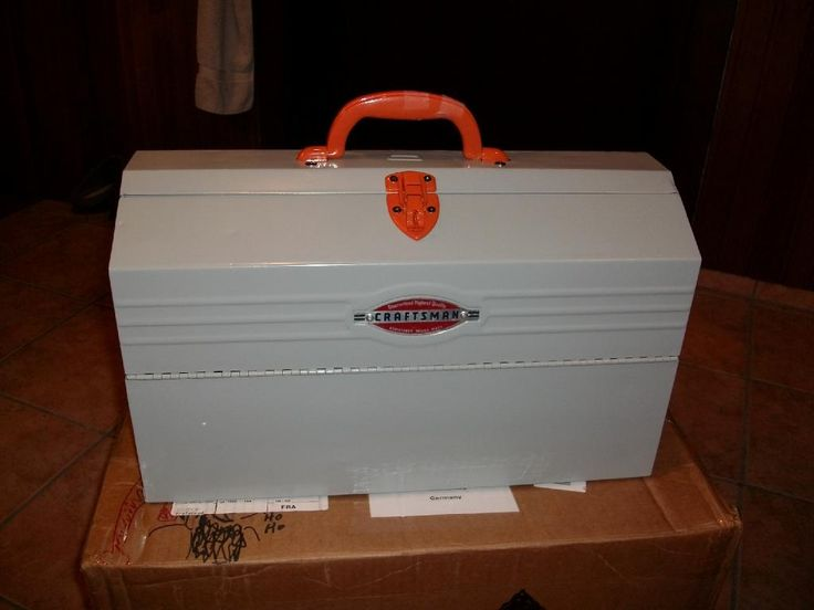 Craftsman Cantilever Box Vintage Amp Unusual Tool Boxes