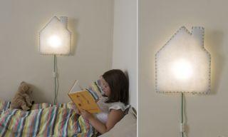 lampada da muro Soft Light Casetta Camerette, Lampade da