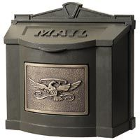 Gaines Eagle Wall Mount Victorian Mailboxes