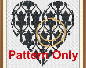 Sherlock Wallpaper Cross Stitch Pattern