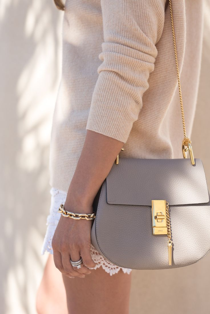 chloe drew--can't decide between the grey and black! - tan side bag, luggage bags, side bag purse *sponsored