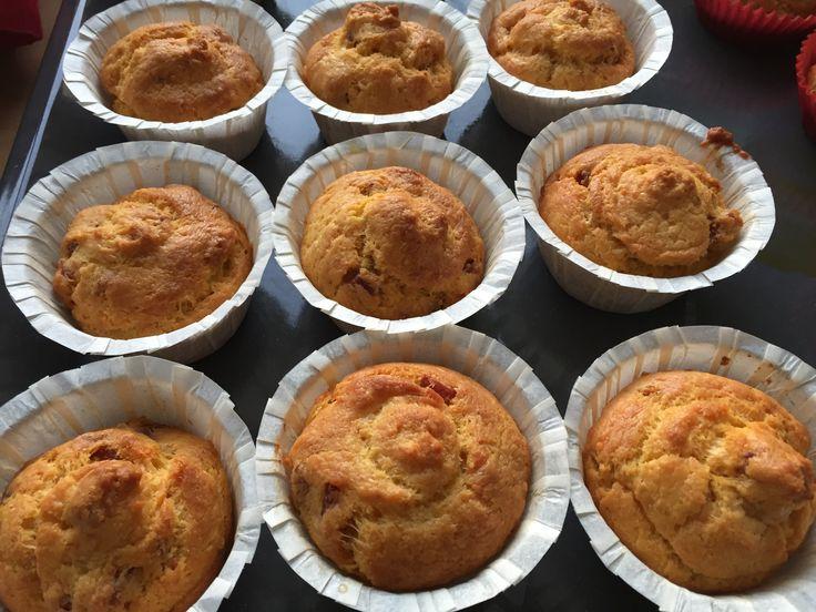 Muffin salati con fontina e prosciutto  dal mio blog