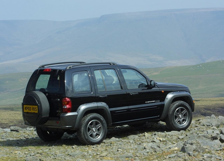 2003 Jeep Cherokee UK Version
