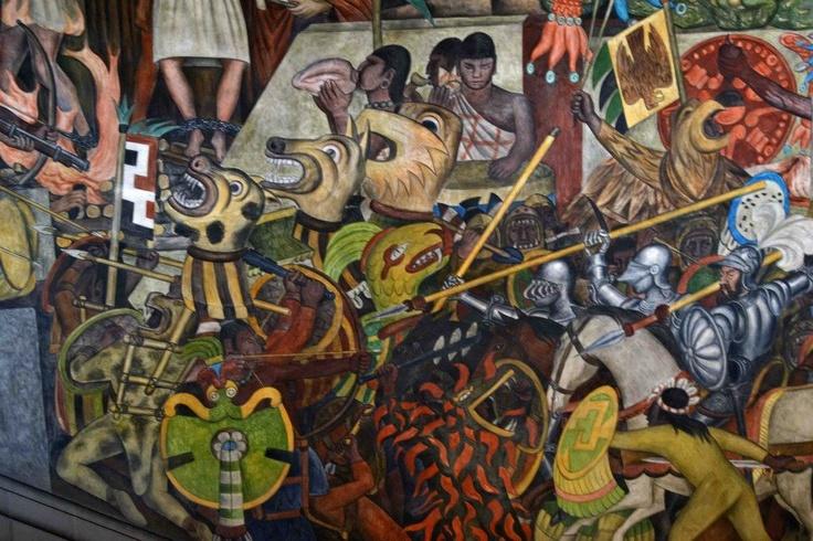 la colonizacion de México