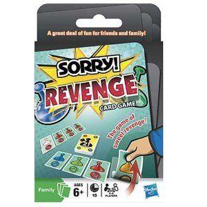 SORRY! Revenge Card Game $10.09