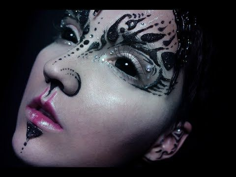 ▶ DIY: Alien Face Prosthetic - YouTube follow her on YouTube subscribe you will not be disappointed