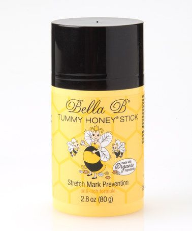 Take a look at this Tummy Honey Stretch Mark Prevention Stick by Bella B on #zulily today!