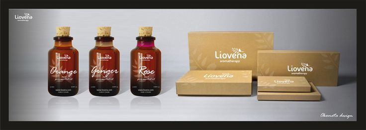 Perfume bottle packaging for Lioventa, Italy