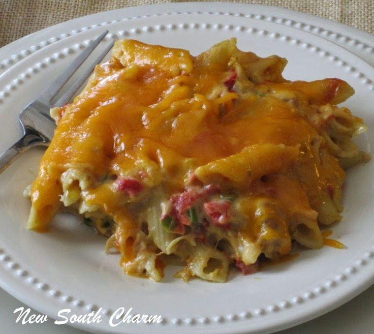 Rotel Chicken Pasta
