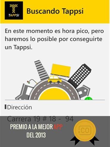 La mejor app de 2013: Tappsi.