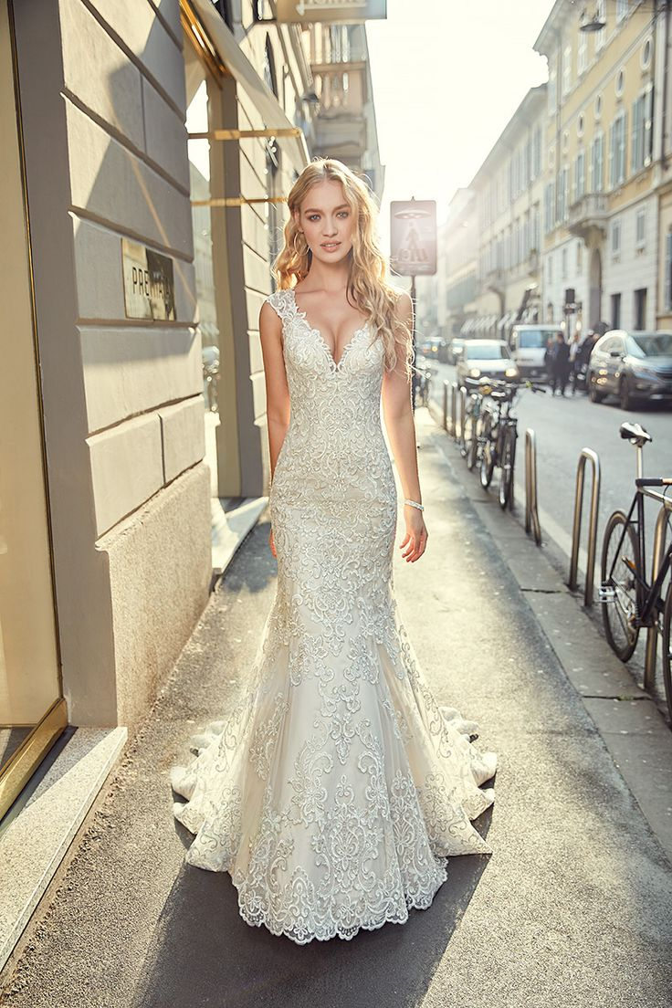 90 besten Eddy K Bridal Bilder auf Pinterest   Brautkleider ...
