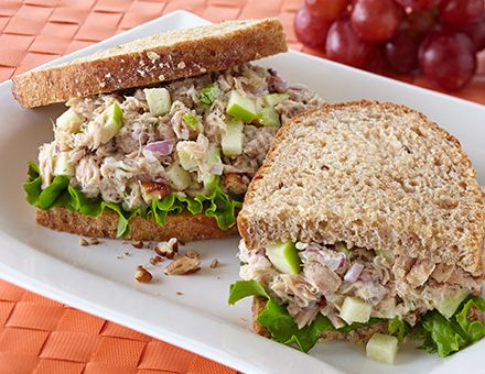 Tuna Salad Sandwiches on Pinterest | Tuna fish sandwich, Simple tuna ...