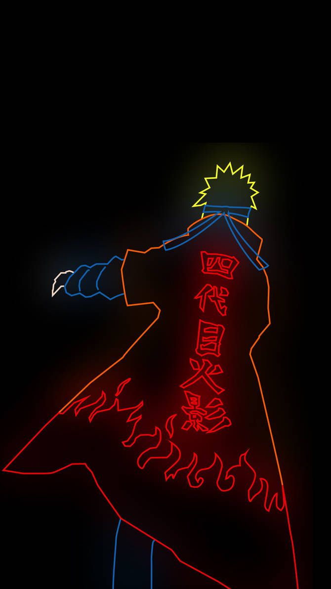 Naruto Minato Amoled Wall By Https Www Deviantart Com Jdkzzz On