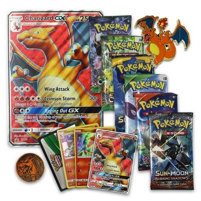 Pokemon Charizard GX Premium Collection Trading Cards