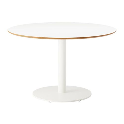 IKEA - BILLSTA, Table, Durable and sturdy; meets the requirements on furniture for public use.Table top covered with melamine, a heat- and scratch-resistant finish that is easy to clean.Stands evenly on an uneven floor as it has adjustable feet.