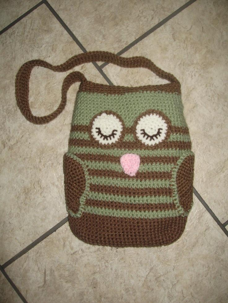 I love owls. And I love purses.: Knitted Crochet Owls, Crafts Owls, Crochet Bags, Crochet Knitting Owls, Purses Bags, Bags Purses Corchet, Crocheted Critters, Crocheted Owls, Crocheted Purses