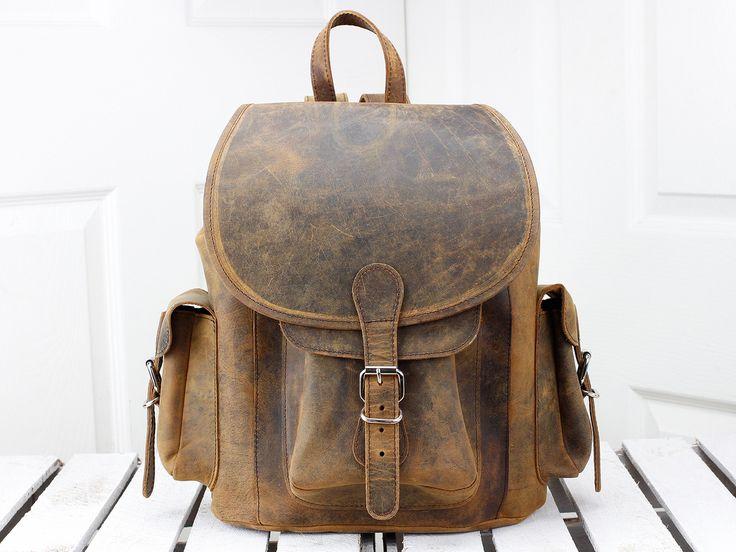 Boho Leather Backpack | Originally designed by Scaramanga