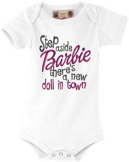 Organic baby onesie funny baby gift baby girl summer by eAGAPIcom