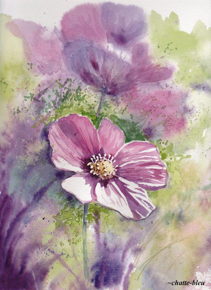 Kwiaty 5 by chatte-bleu.deviantart.com on @deviantART