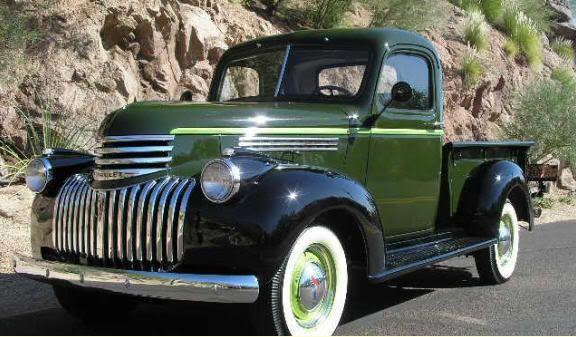 1946 chevy truck photos | 1946 Chevrolet Pickup Truck