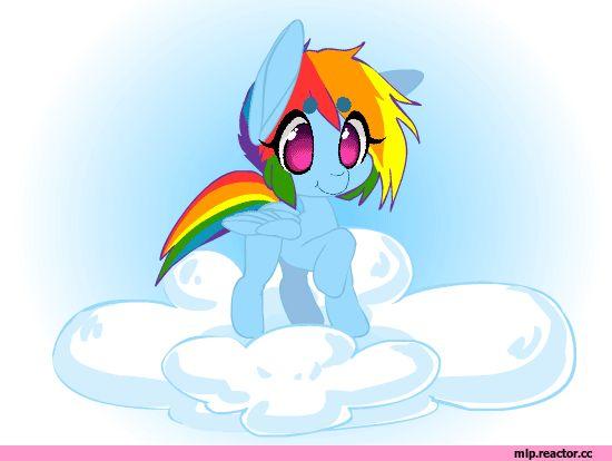 mlp gif,my little pony,Мой маленький пони,фэндомы,Rainbow Dash,Рэйнбоу Дэш,mane 6