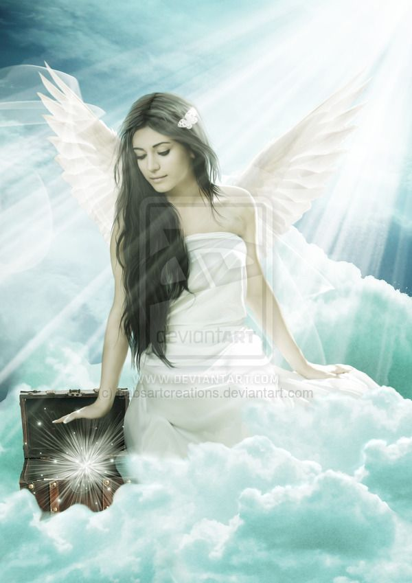Angel Jeremuel by babsartcreations.deviantart.com on @deviantART