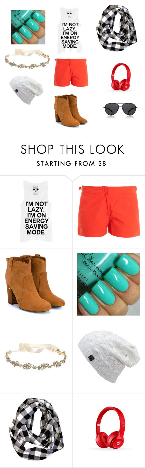 """""""Clover Jonson/ Chapter 3: You don't know what your dealing with"""" by hogwarts23 on Polyvore featuring Orlebar Brown, Laurence Dacade, Marchesa, Beats by Dr. Dre, The Row, women's clothing, women's fashion, women, female and woman"""