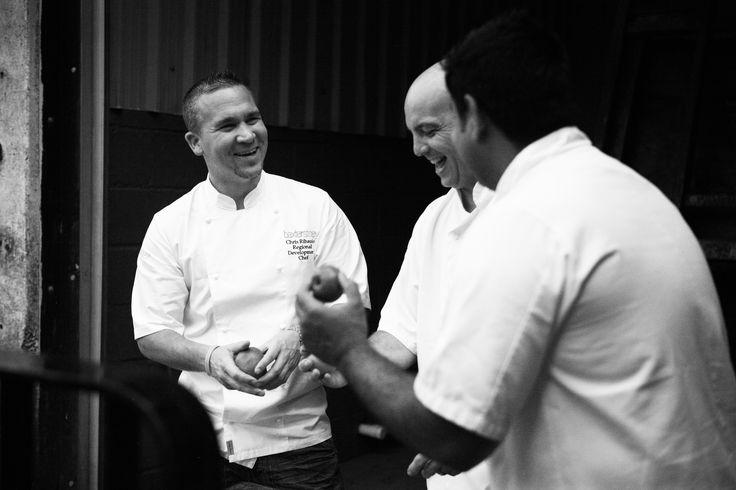 Chefs at Chegworth Valley #baxterstorey #chef #love #team