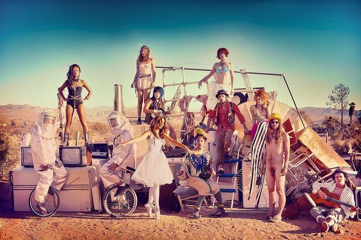Photo Desert Freaks of Noah Purifoy II  - Akif Hakan Celebi