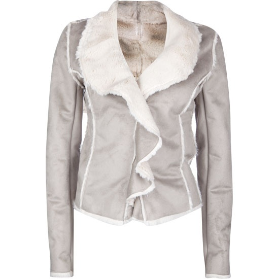 Say What Suede Ruffle Womens Jacket - $39.99 (a favourite repin of VIP Fashion Australia www.vipfashionaustralia.com - Specialising in unique fashion, exclusive fashion, online shopping sites for clothes, online shopping of clothes, international clothing store, international clothes shop, cute dresses for cheap, trendy clothing stores, luxury purses )