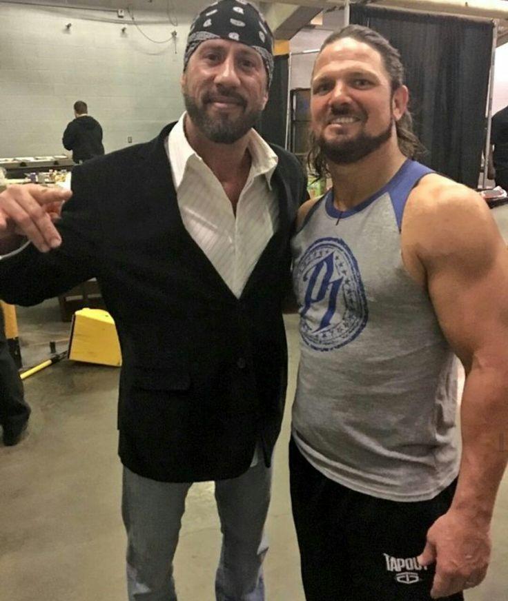 AJ Styles w/ X-Pac