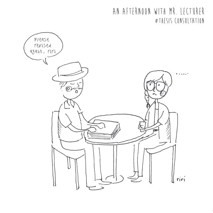 an afternoon with mr. lecturer #doodle