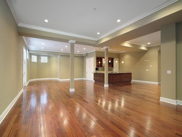 Finished Basement Ideas On A Budget - Wood Floor