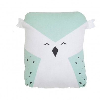 Fabelab Animal Owl Cushion `One size Details : Organic Cotton, Oeko Tex certified Recron (recycled bottles) * Composition : 100% Organic cotton grown without pesticides * 20 x 5 cm. * GOTS certified * Machine washable, 30°C max, Do not i http://www.MightGet.com/january-2017-13/fabelab-animal-owl-cushion-one-size.asp