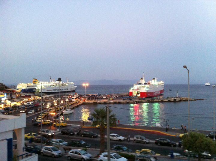 Λιμάνι Ραφήνας (Rafina Port) in Ραφήνα, Αττική