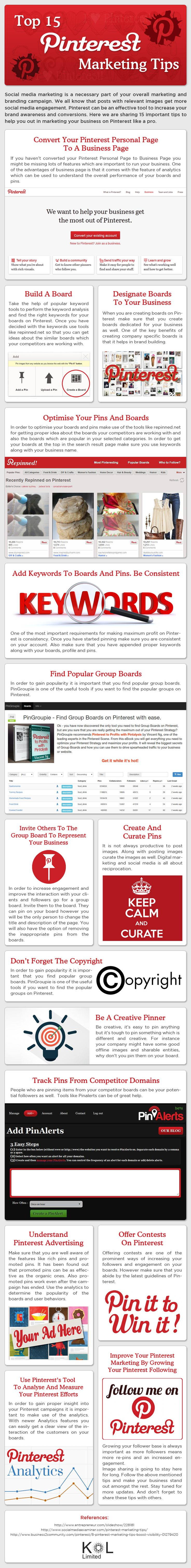 Top 15 Most Important Pinterest Marketing Tips