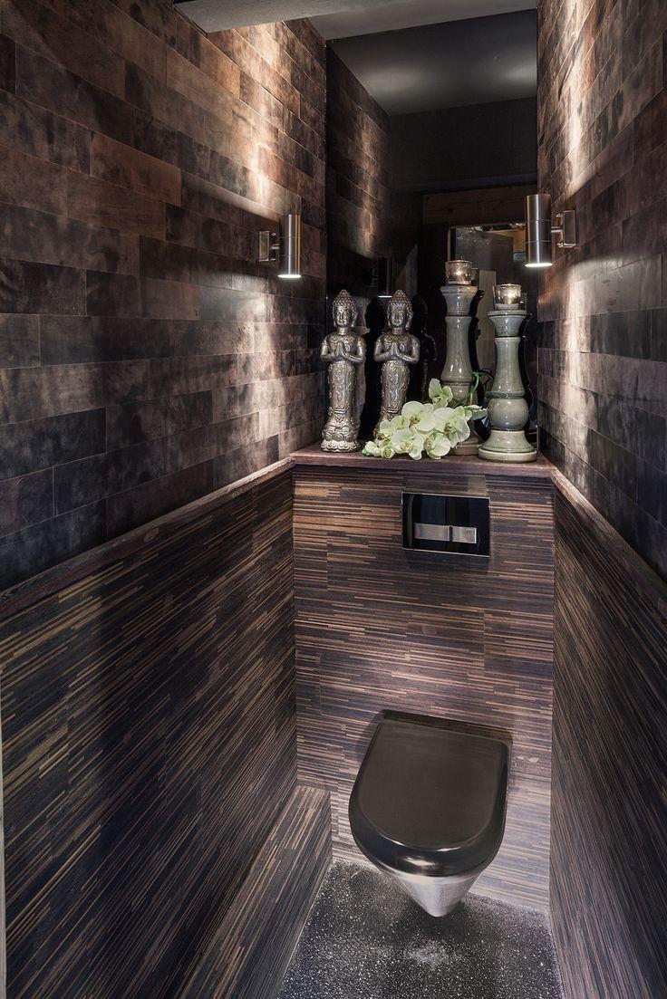 21 best leren wandbekleding leather walls images on pinterest leather wall wall decorations - Kleuren muur toilet ...