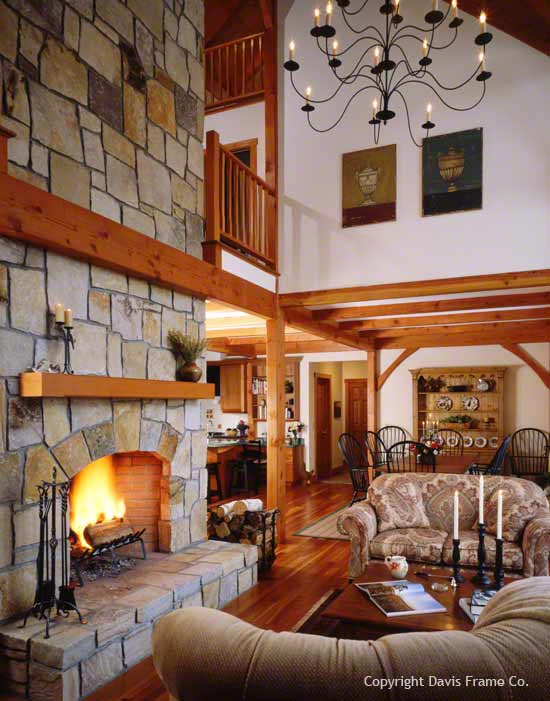 24 best images about timber frame homes on pinterest for Timber frame great room