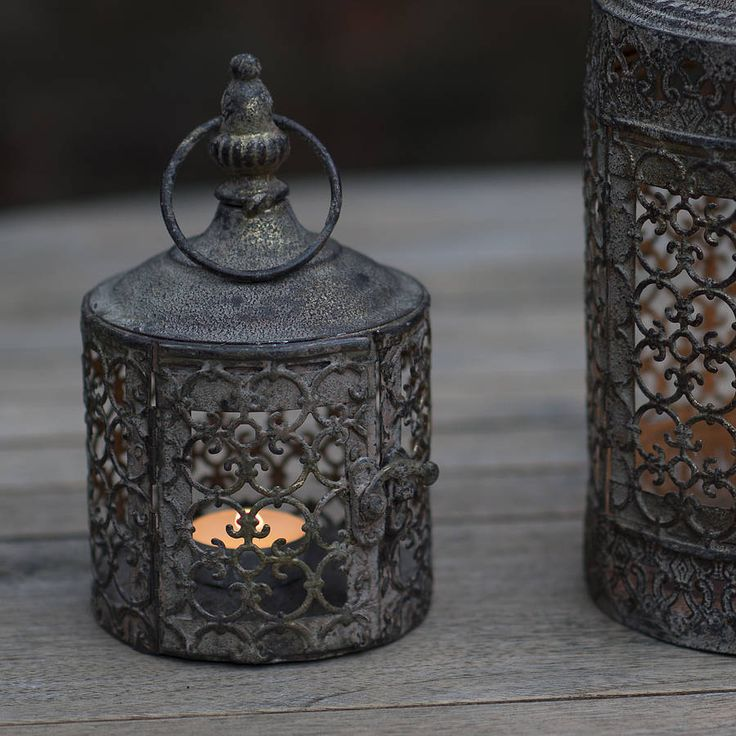 baby lattice moroccan style candle lantern by the flower studio | notonthehighstreet.com