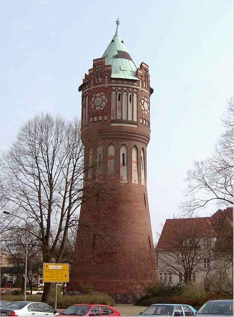 Water tower, Salzwedel/Altmark