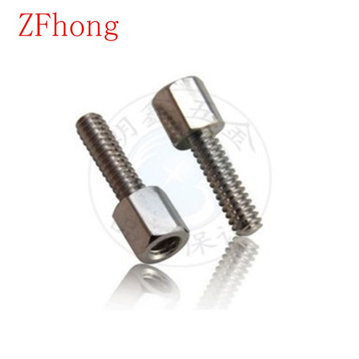 $3.39 (Buy here: https://alitems.com/g/1e8d114494ebda23ff8b16525dc3e8/?i=5&ulp=https%3A%2F%2Fwww.aliexpress.com%2Fitem%2F100pcs-lot-High-Quality-4-40-5-VGA-Connector-Screw-Brass-With-Nickel-Hex-Standoff-Spacer%2F32792555809.html ) 100pcs/ lot High Quality 4#-40*5 VGA Connector Screw Brass With Nickel Hex Standoff Spacer Length 5mm--20mm for just $3.39