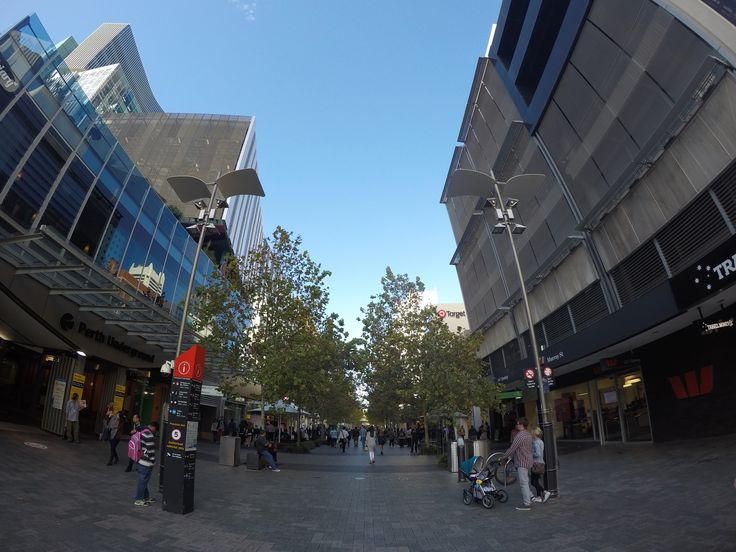 Forrest Chase facing East. Hay St and William St Perth Western Australia #perth #pcpaulieg #keyboardcowboy