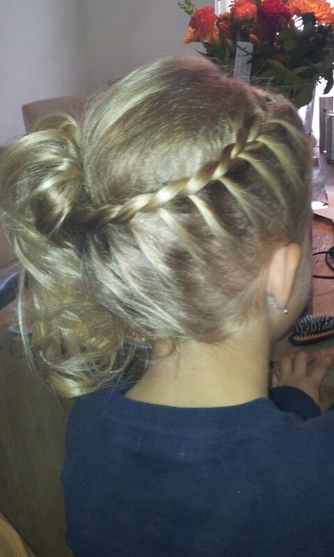 Updo hairstyles for long hair simple