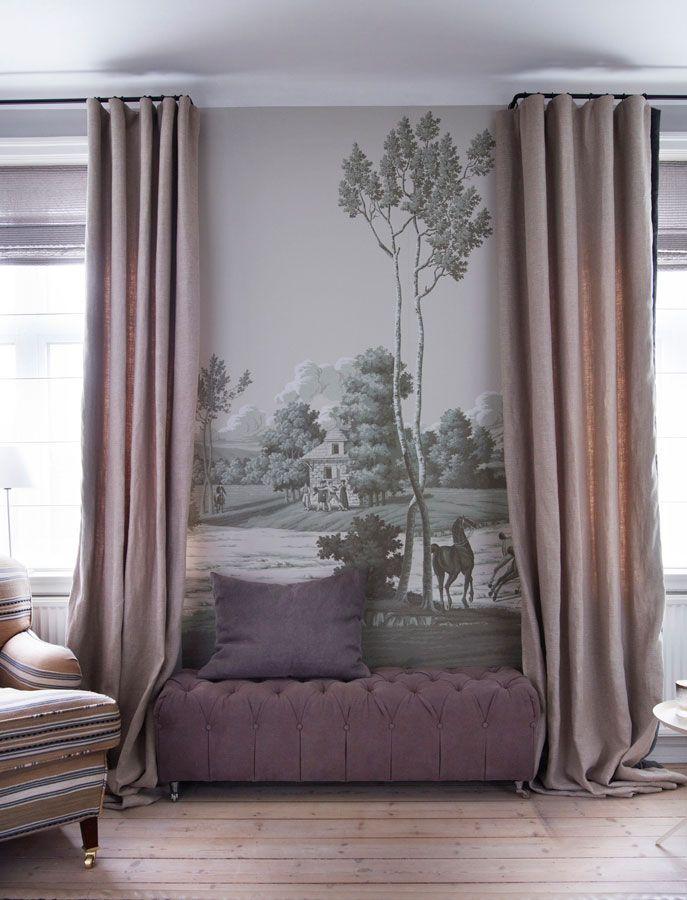 de gournay papier peints et tissus de soies peint a la main collection de papiers peints. Black Bedroom Furniture Sets. Home Design Ideas