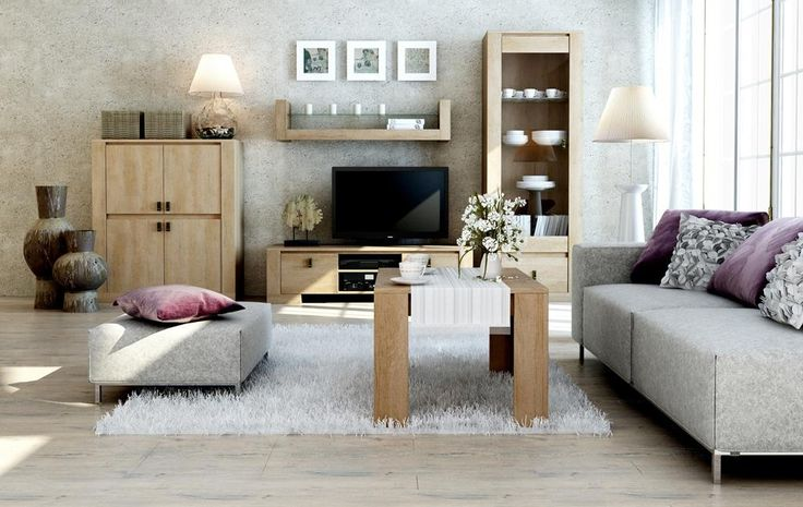 KN225 moderní obývací stěna s konferenčním stolkem / living room furniture