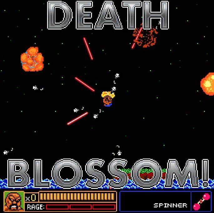 The Last Starfighter Death Blossom Geektacular