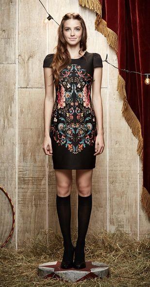 Só na Antix Store você encontra Vestido Lona de Flores com exclusividade na internet